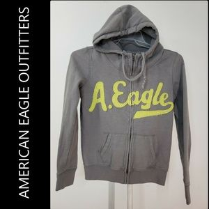 American Eagle Outfitters Hooded Jacket Size Small